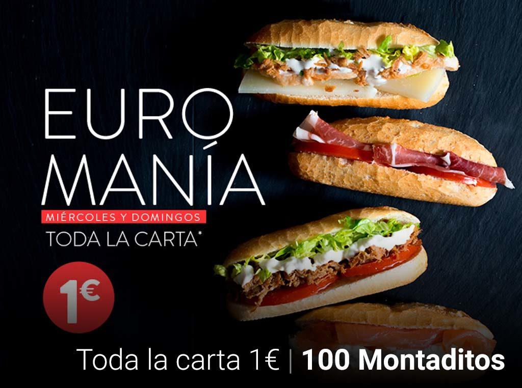 100 MONTADITOS – MIÉRCOLES Y DOMINGOS, TODOS LOS MONTADITOS A 1€