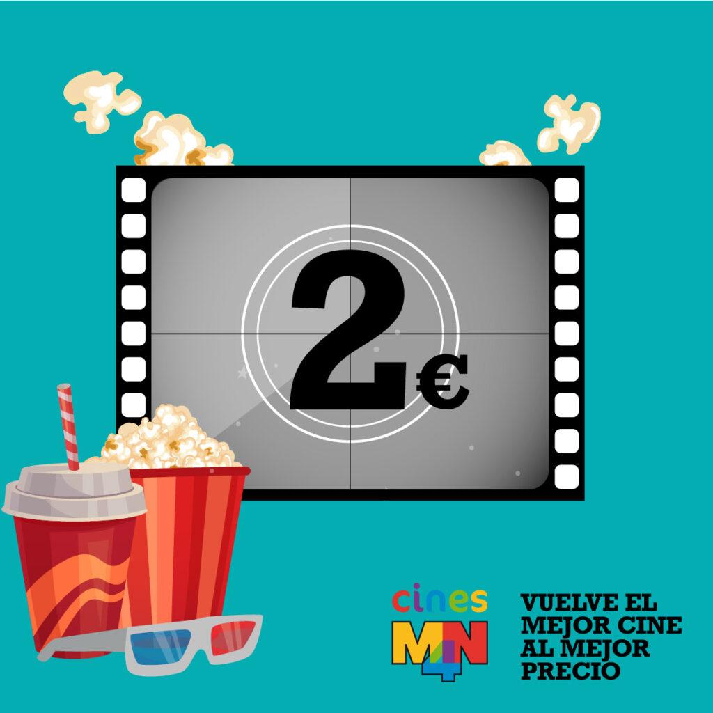 Cines MN4 | Ven al cine por 2 euros