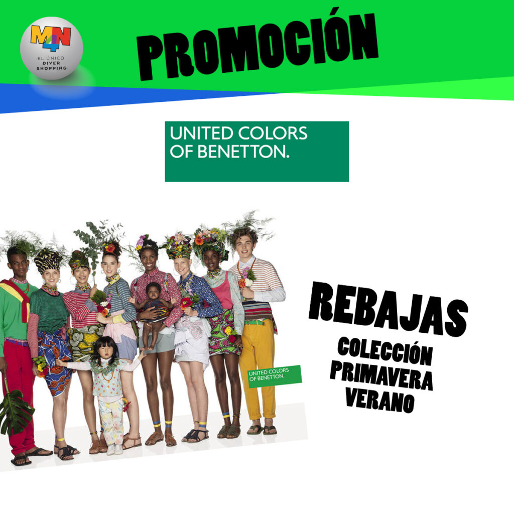 UNITED COLORS OF BENETTON – Rebajas