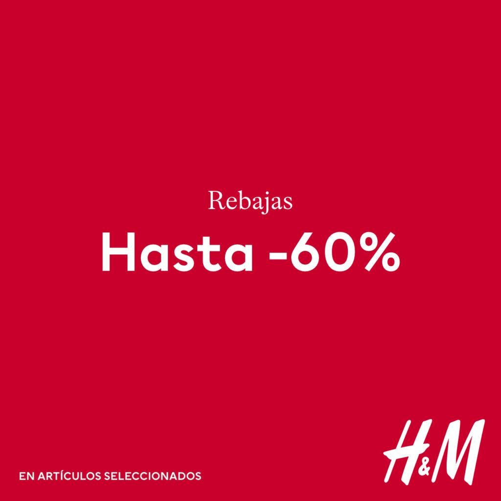 H&M– Descuento hasta -60%