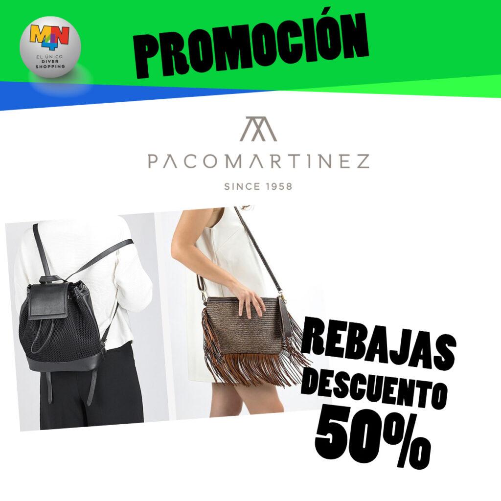 PACO MARTÍNEZ– Descuento -50% en productos seleccionados
