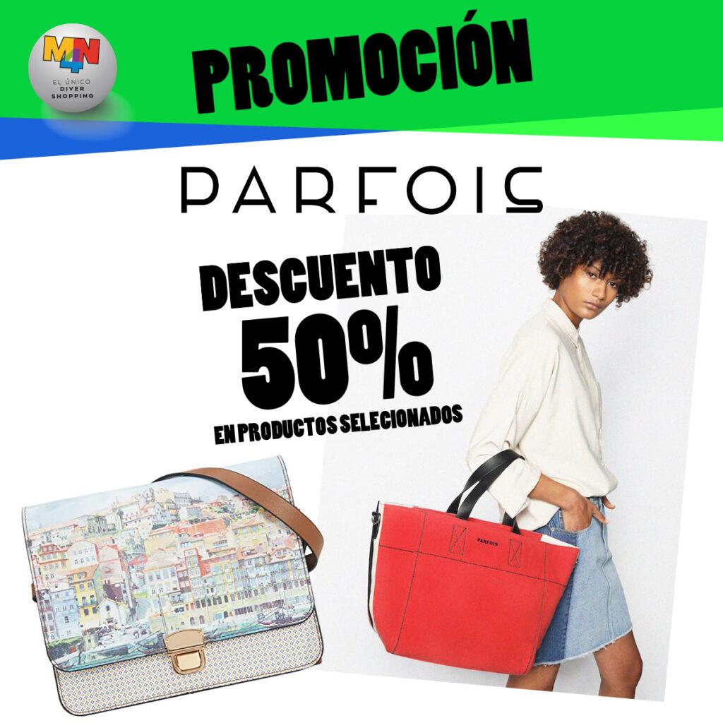 PARFOIS – Descuento -50% en productos seleccionados