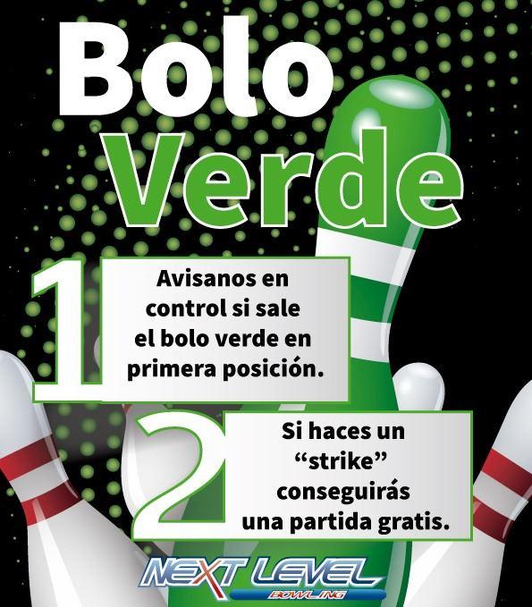 Bowling Next Level | Bolo verde