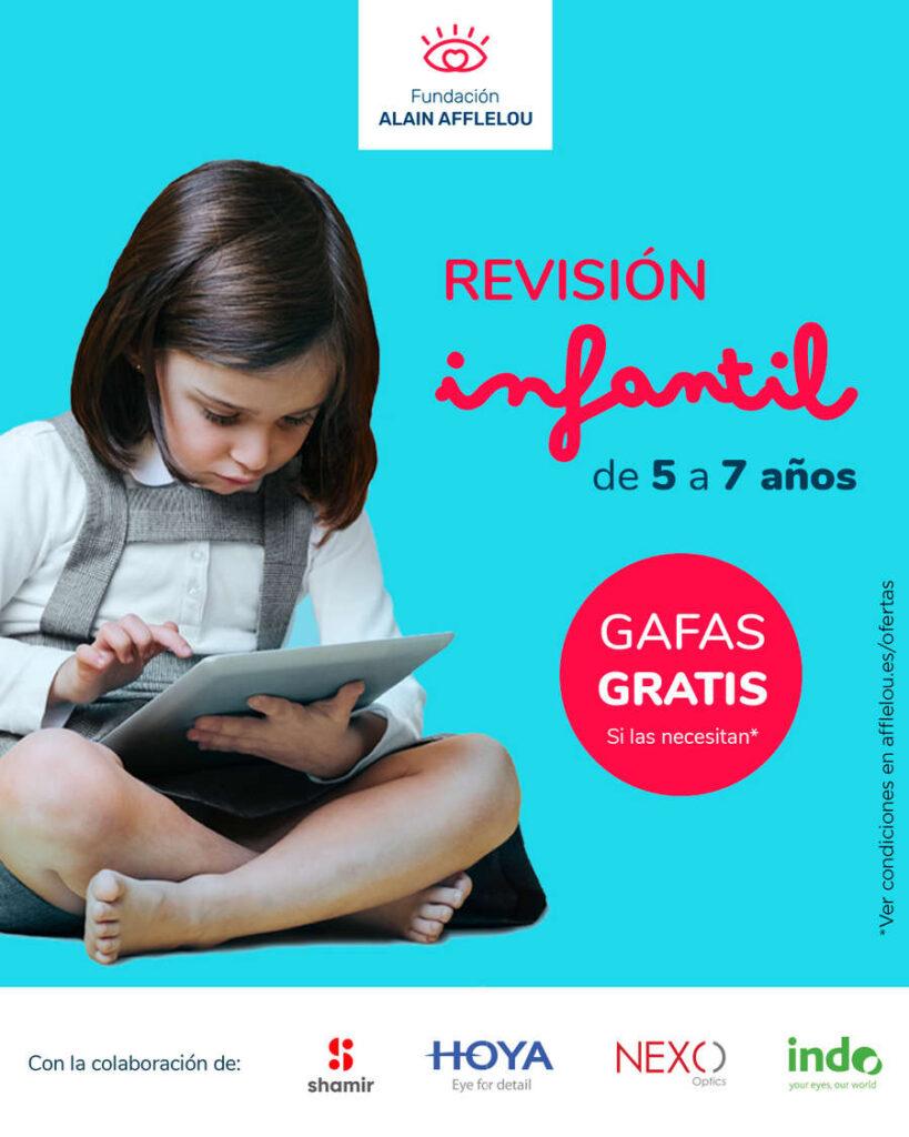 ALAIN AFFLELOU – Revisión infantil de 5 a 7 años