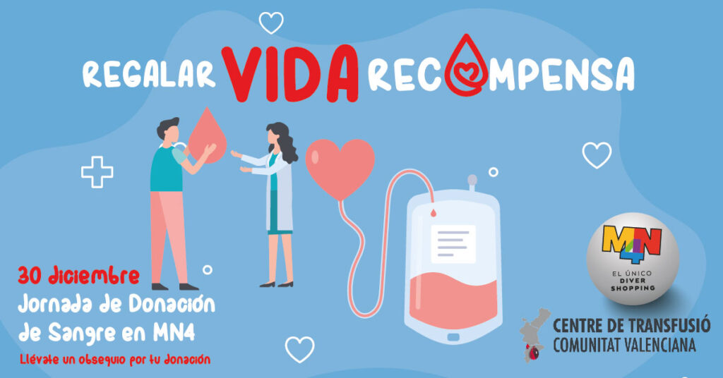 Donación de sangre en MN4