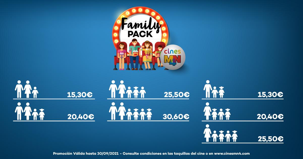 Family Packs Cines MN4
